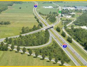 Travaux de forage pour le prolongement de l'autoroute 35