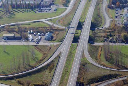 Travaux de signalisation sur l'autoroute 35