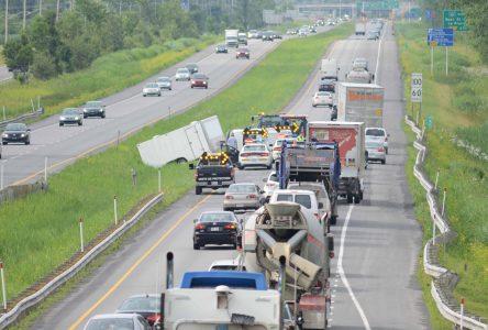 Accident sur l'autoroute 35