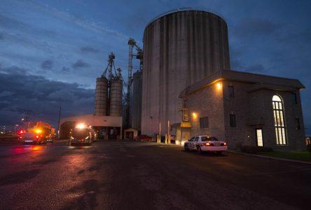 Explosion chez Nova Grain: Aucun blessé
