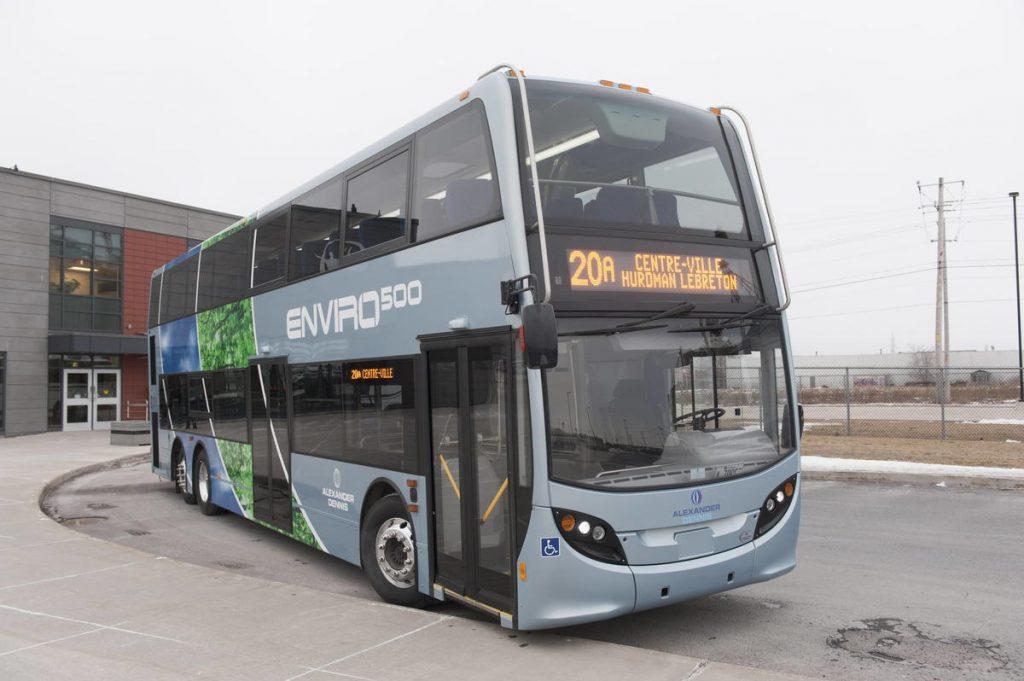 Saint-Jean renonce aux autobus à deux étages
