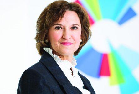 Claire IsaBelle, candidate de la CAQ dans Huntingdon