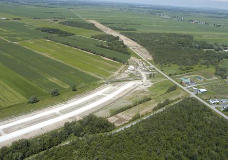 Échangeur de l'autoroute 35: la CPTAQ rejette la demande de Saint-Alexandre
