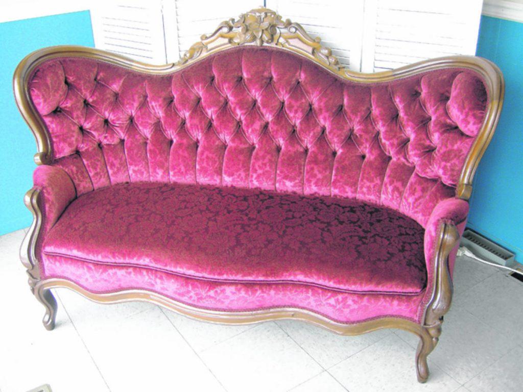 Un fauteuil d'autrefois de grande valeur
