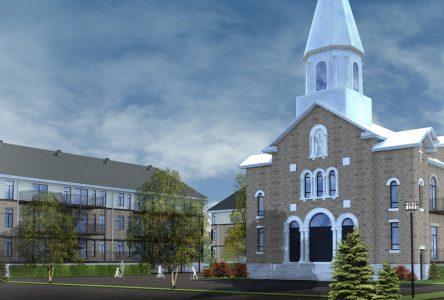 L'église transformée en complexe immobilier