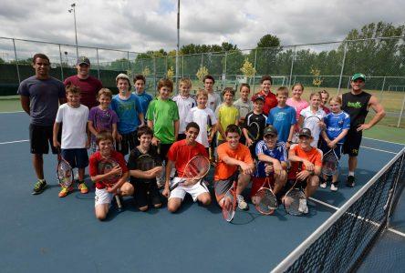 L'été au tennis pour 200 jeunes