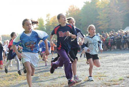 Cross-country: les jeunes élèves ont tout donné!