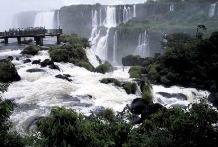 Les chutes d'Iguaçu, l'une des merveilles du monde