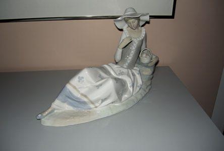 Les figurines de porcelaine