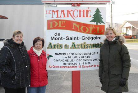 Marché de Noël à Mont-Saint-Grégoire