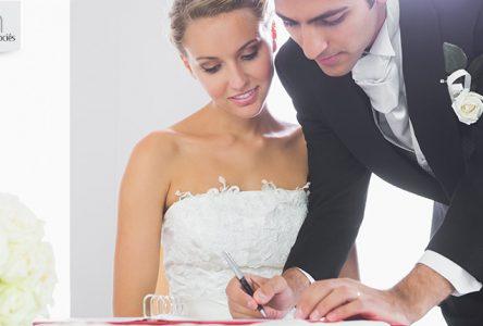 Saviez-vous qu'il est possible de se marier civilement devant un notaire?