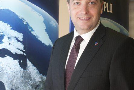 Martin Massé, candidat libéral dans Saint-Jean