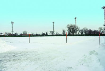 Un anneau de glace au stade municipal