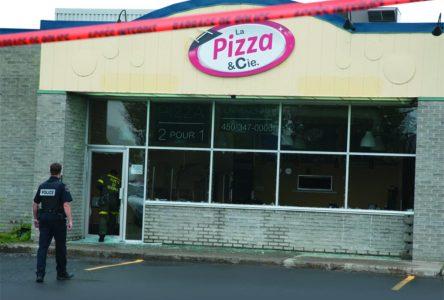 Troisième attaque à la même pizzéria