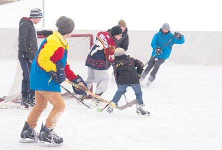 Populaires, les patinoires extérieures