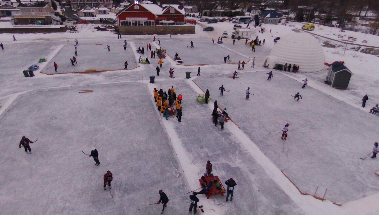 Week-end de hockey d'antan à Venise-en-Québec