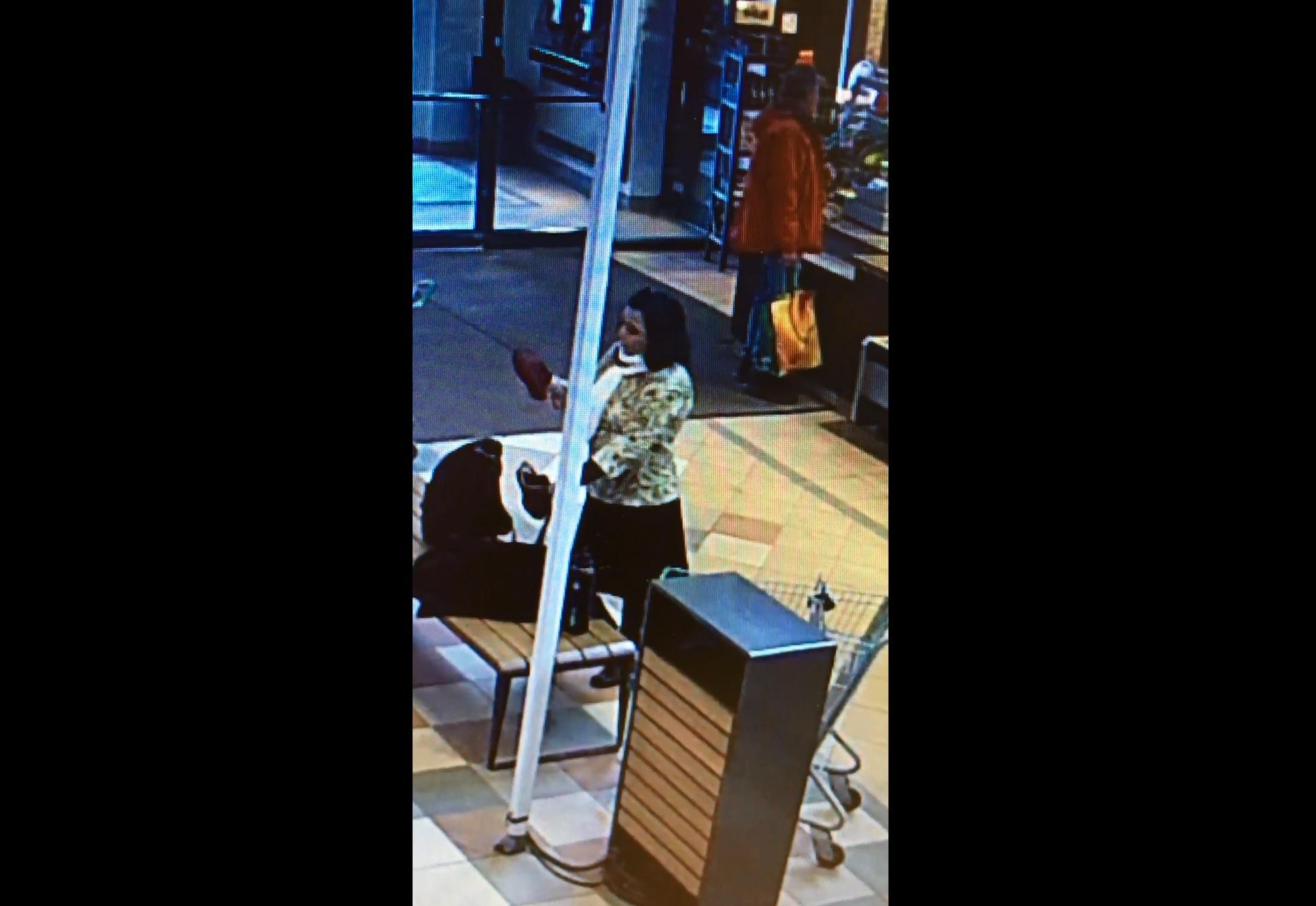 Les policiers recherchent une voleuse de sac d'épicerie