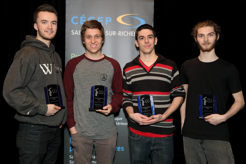 Premiers gagnants de RobotFly