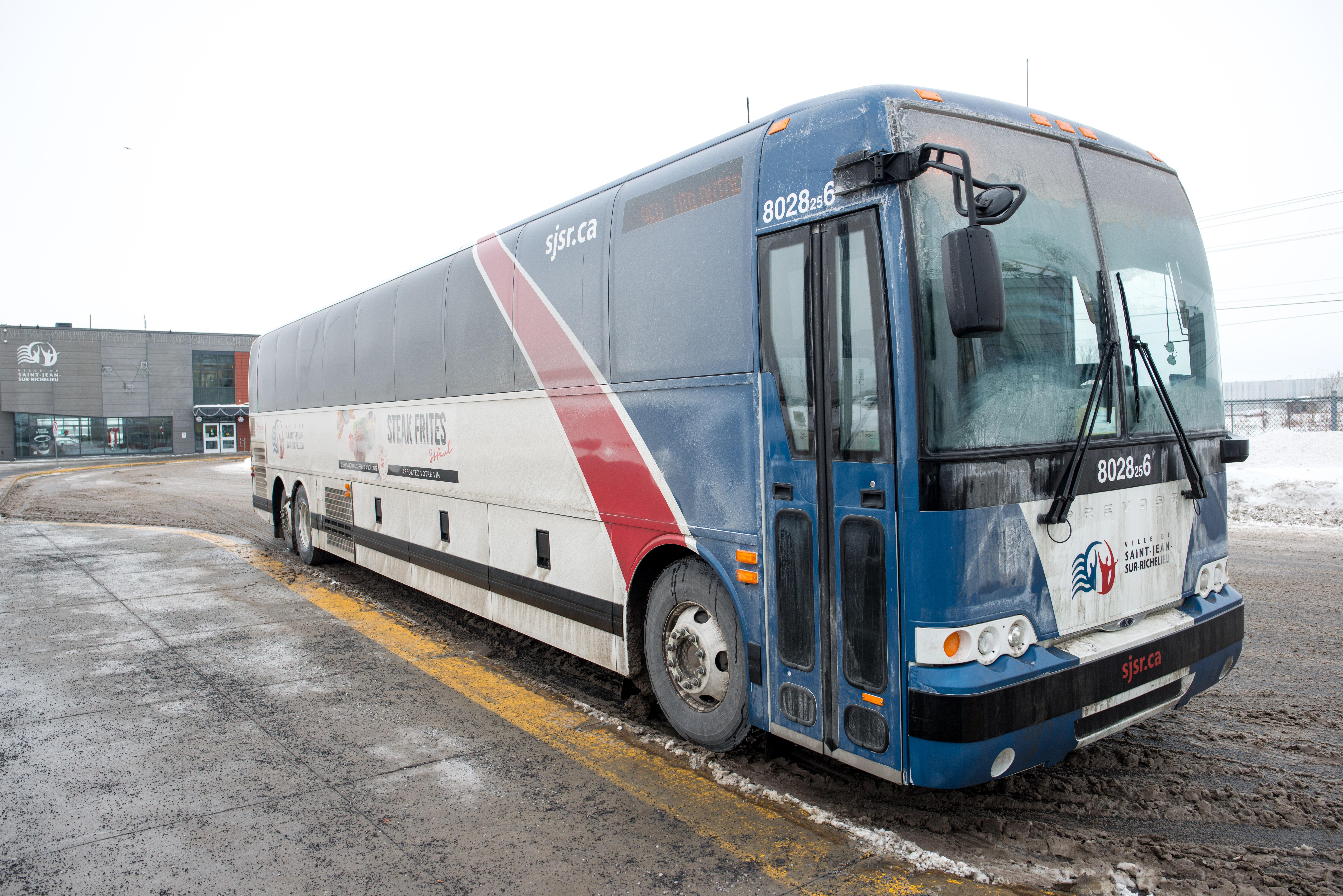 Les autobus de Saint-Jean maintenant sur Google Maps