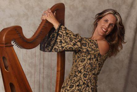 Concert gratuit de la harpiste parJohanne McInnis ce dimanche