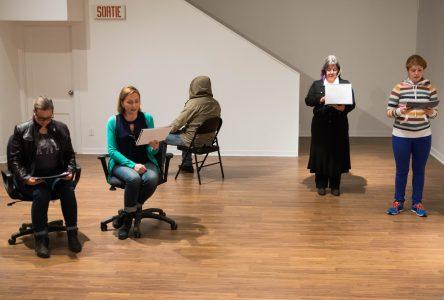 Lecture théâtralisée chez Action Art Actuel