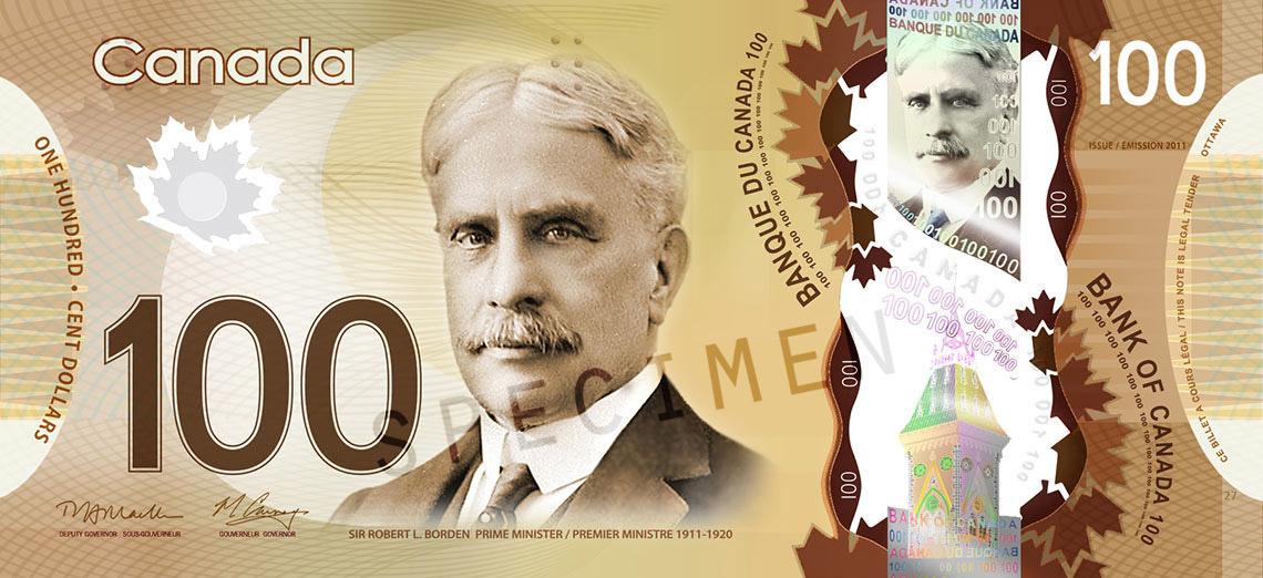 De Faux Billets De 100 En Circulation Le Canada Francais