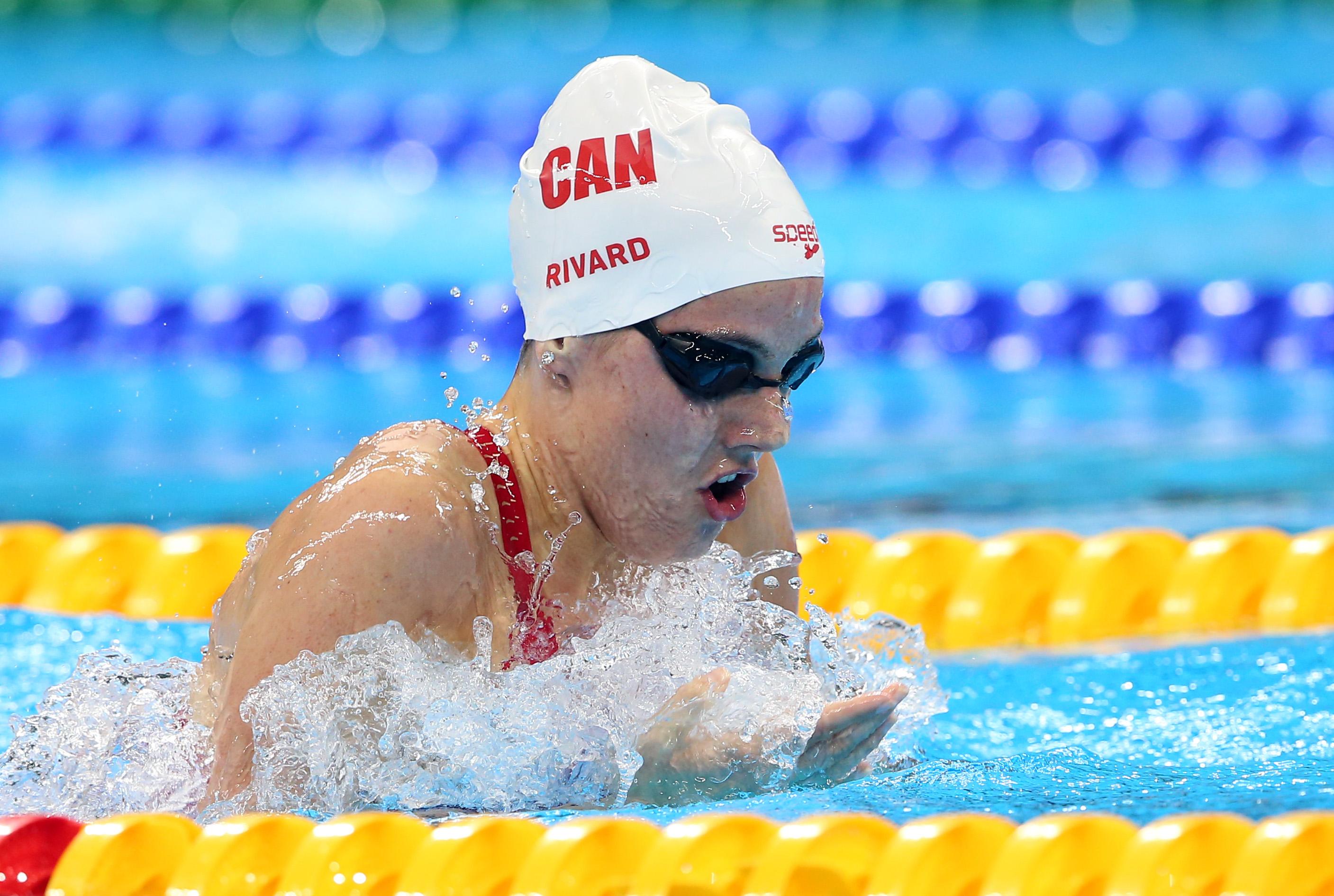 Aurélie Rivard bat son propre record du monde