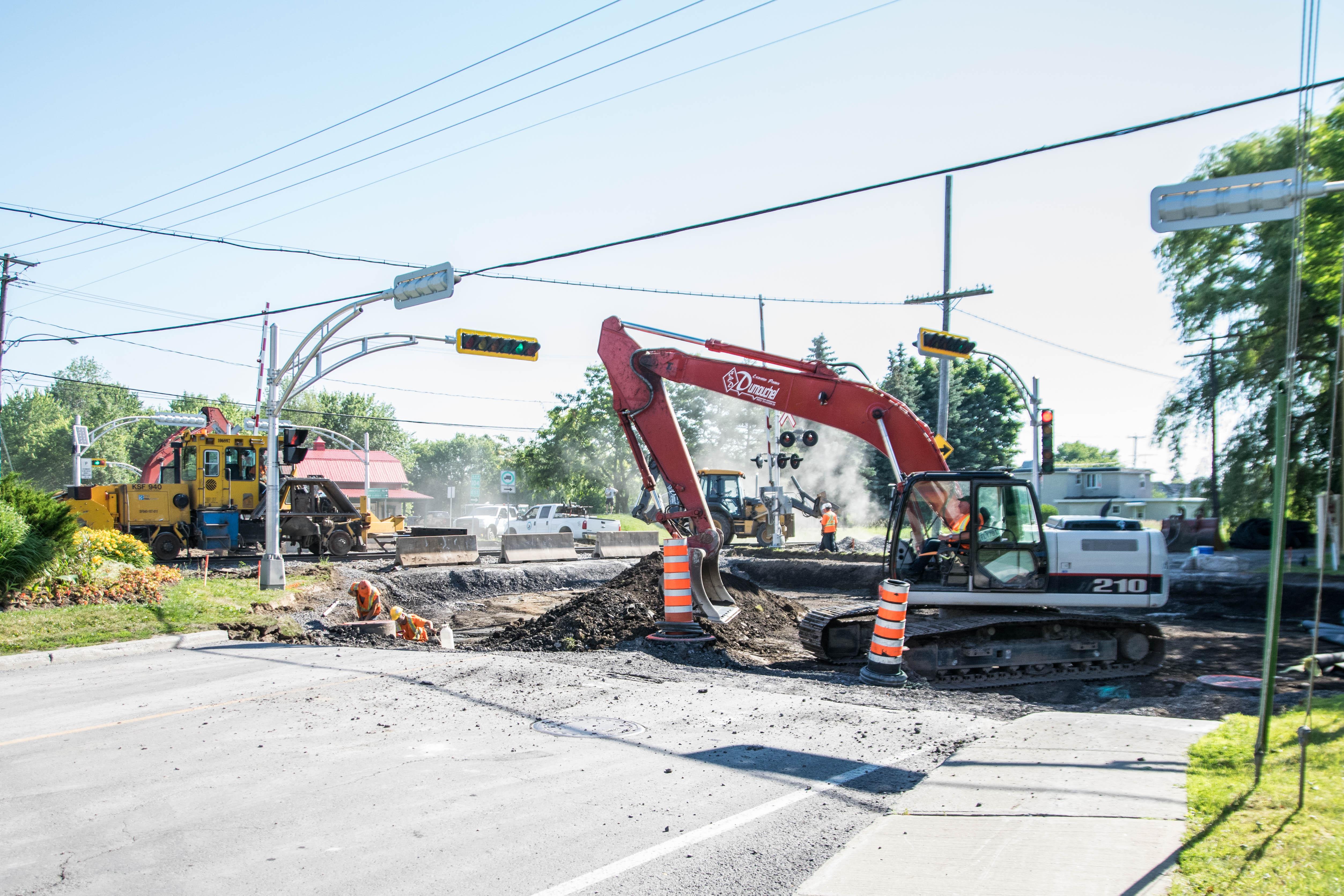 Le chantier du boulevard d'Iberville prolongé d'une semaine