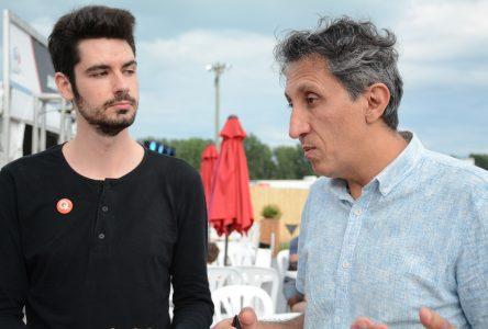 Trois jeunes hommes candidats pour Québec solidaire dans le Haut-Richelieu