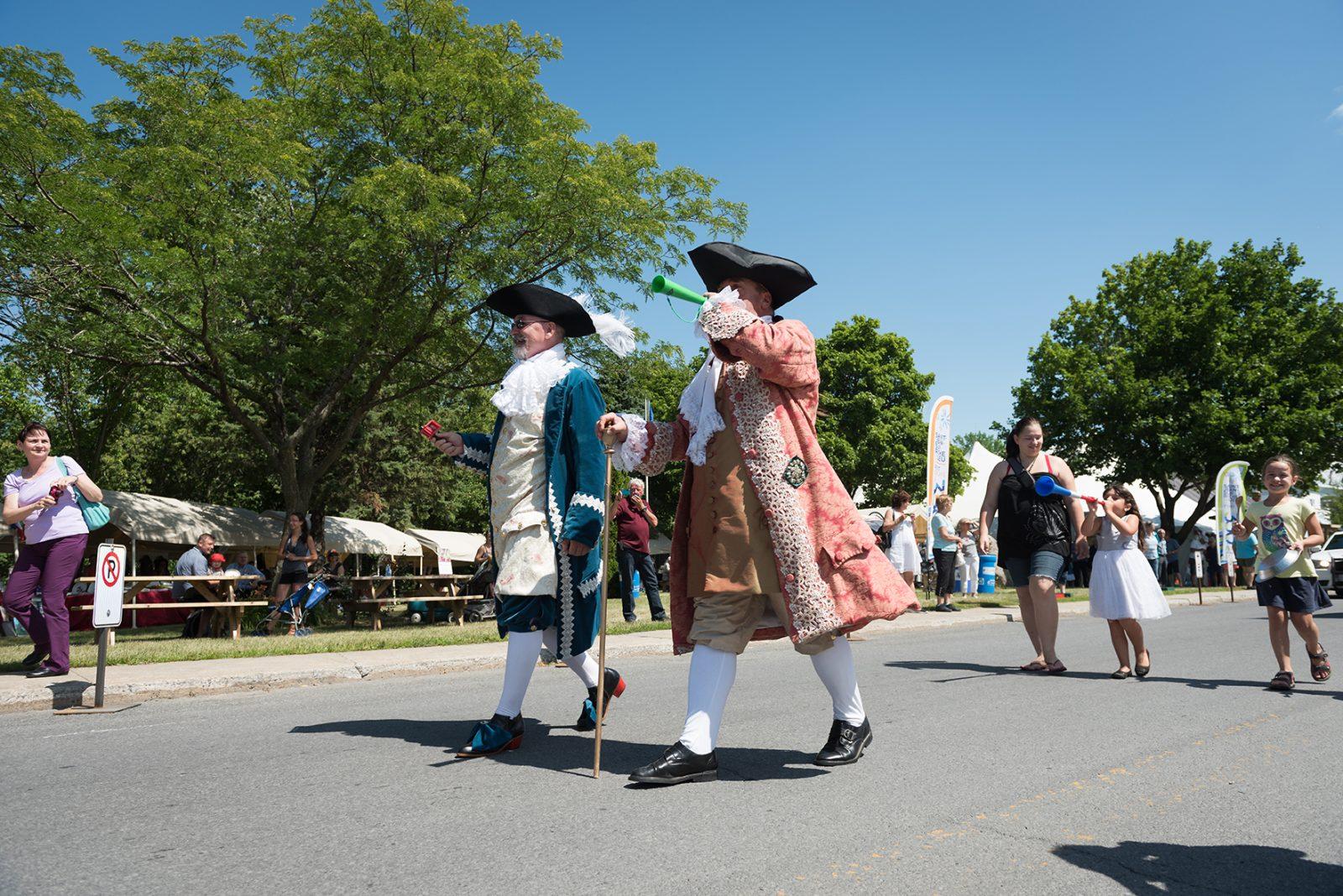 Les Fêtes patrimoniales de L'Acadie ce week-end