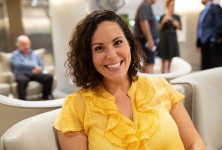 Mylène Gaudreau promet d'être une députée présente