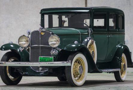8 octobre 1931 – la dernière Oakland à sortir de l'usine