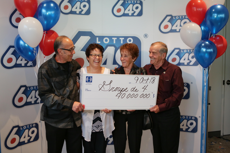 Les gagnants du 40M$ dévoilés