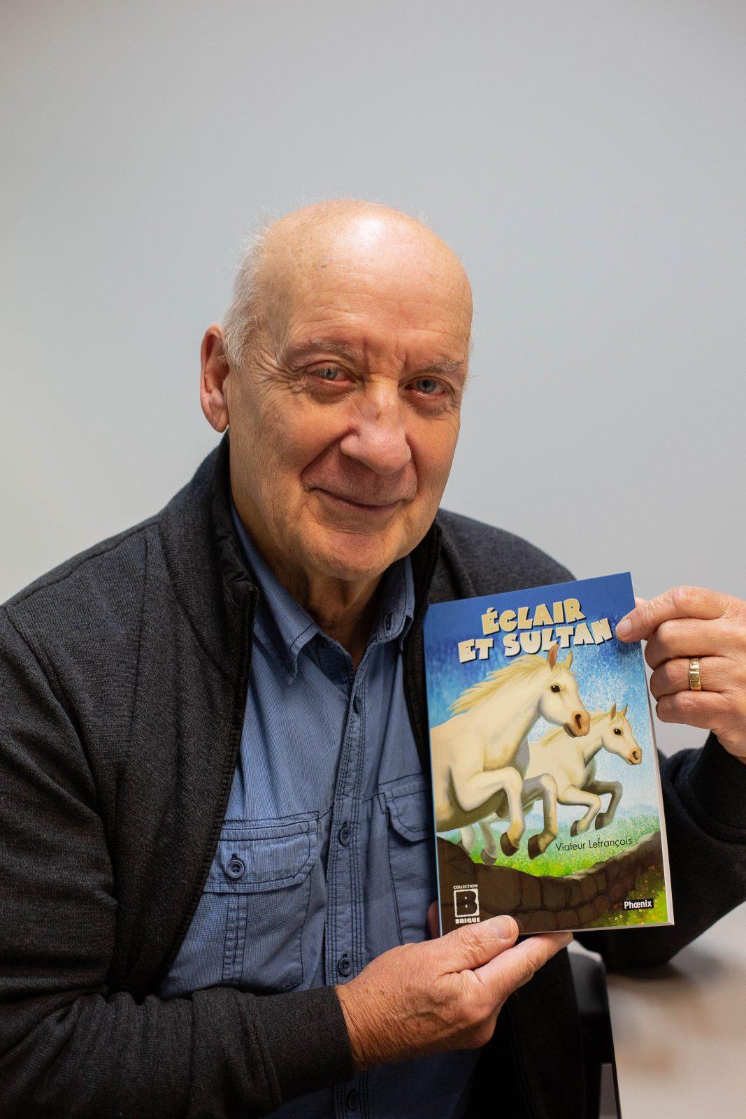Viateur Lefrançois explore l'univers du cirque et des chevaux