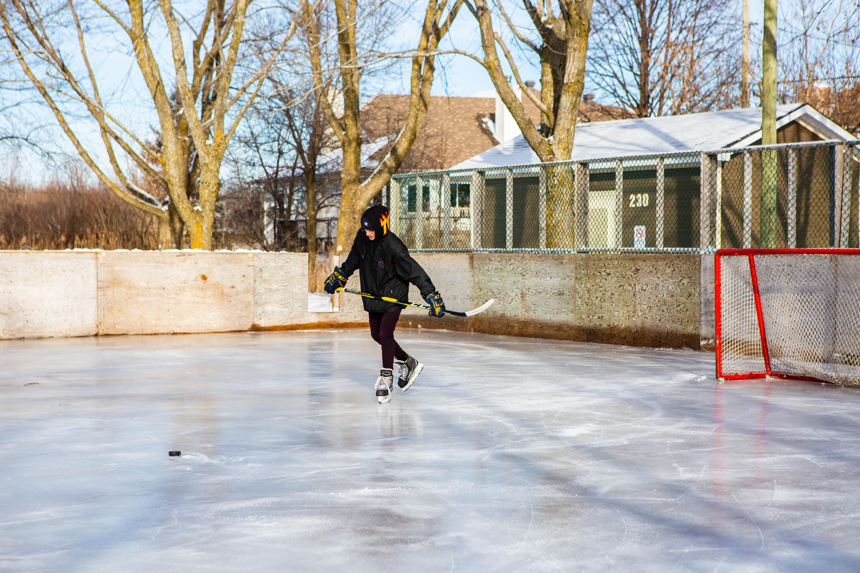 Des patinoires ouvertes