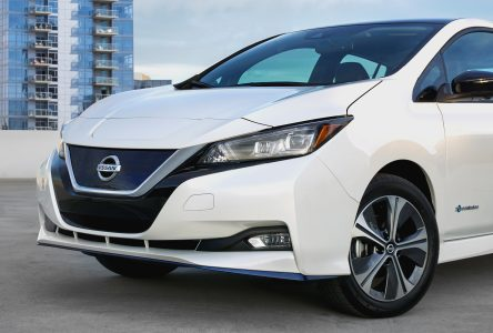 Nissan présente une Leaf plus performante