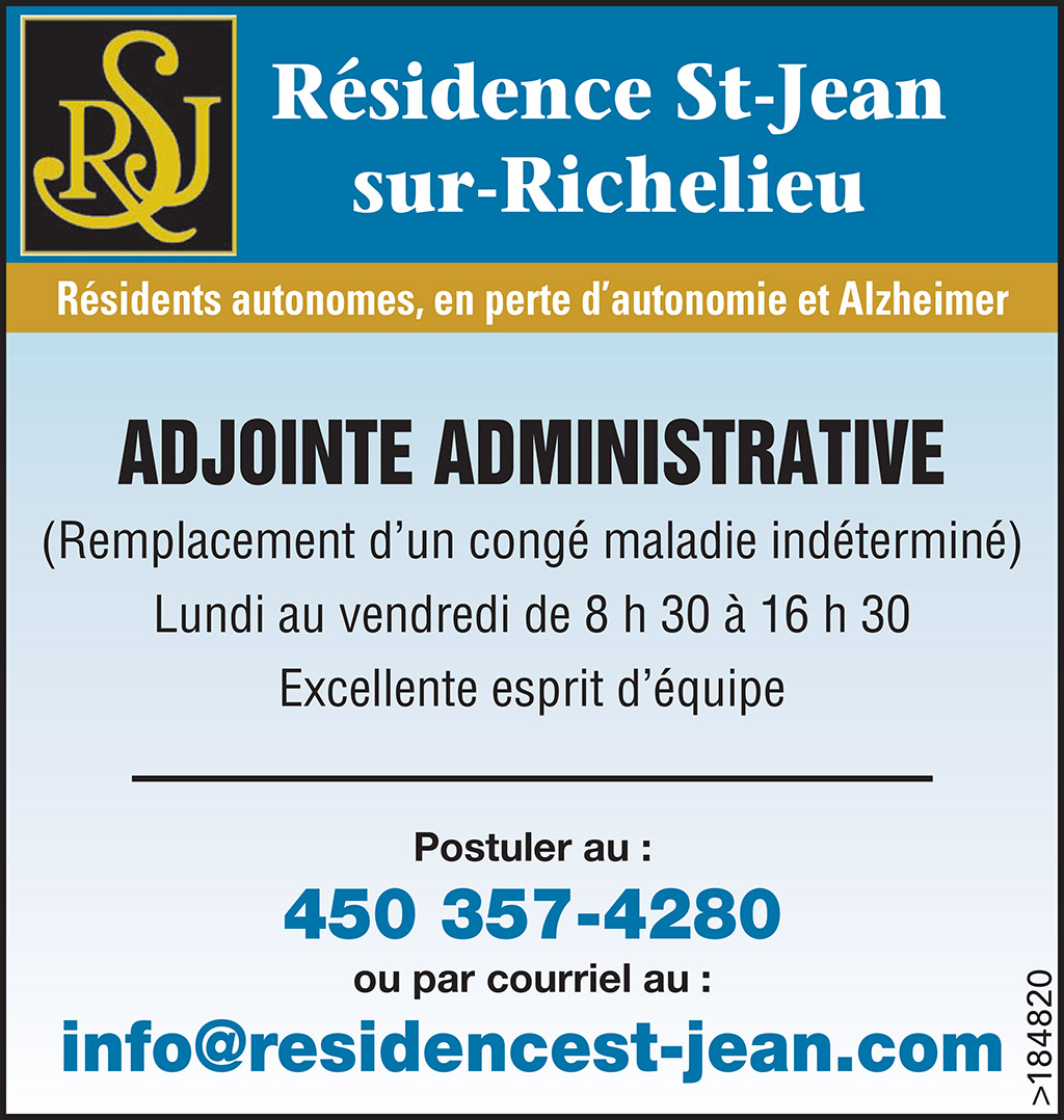 Adjoint Administrative
