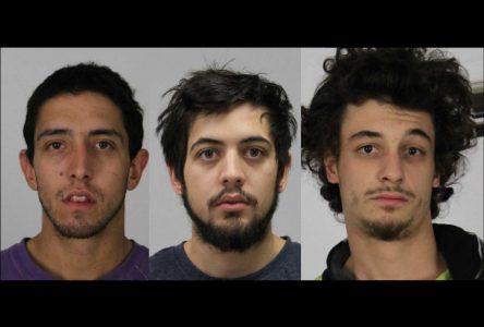 Introductions par effraction: trois suspects arrêtés