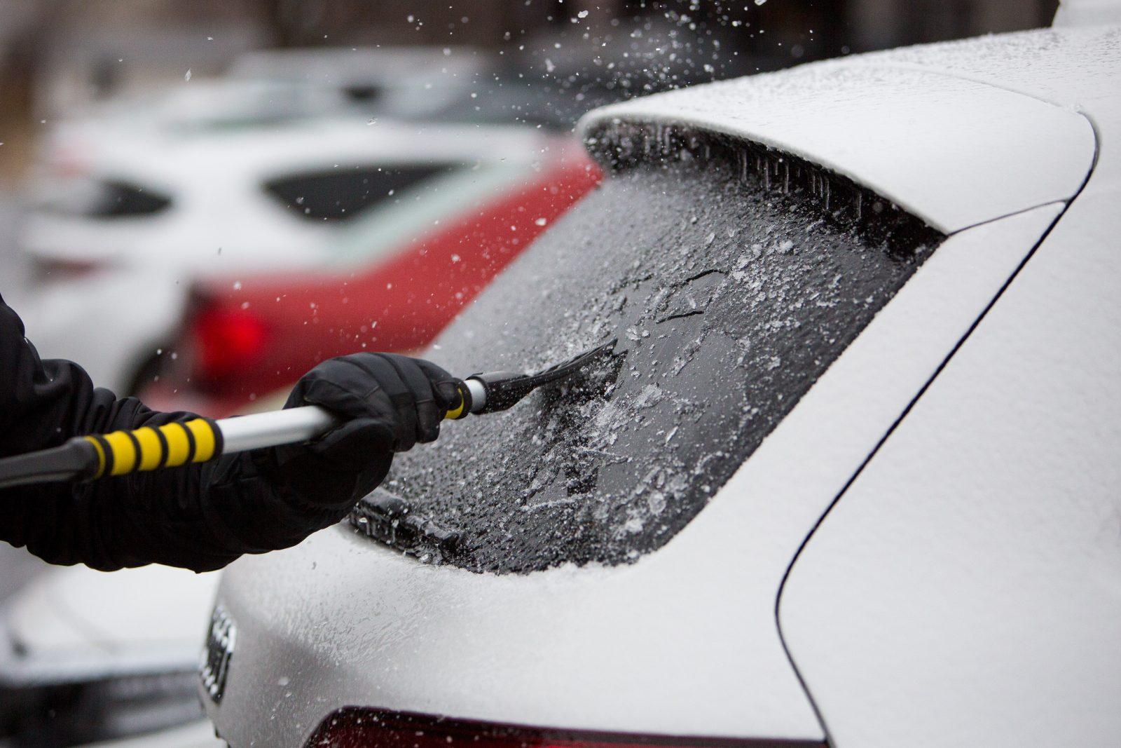 Neige et verglas: prudence sur les routes