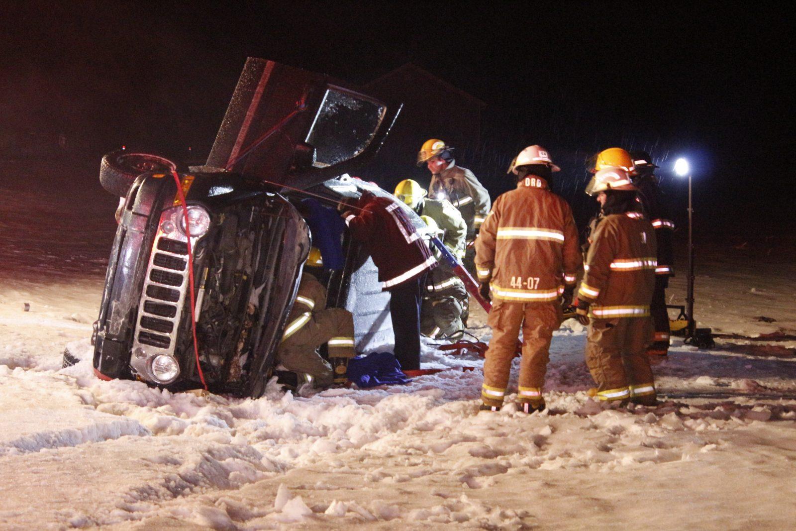 Accident à Henryville