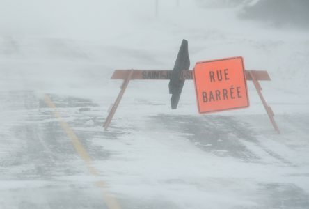 Fermetures de routes à Saint-Jean-sur-Richelieu