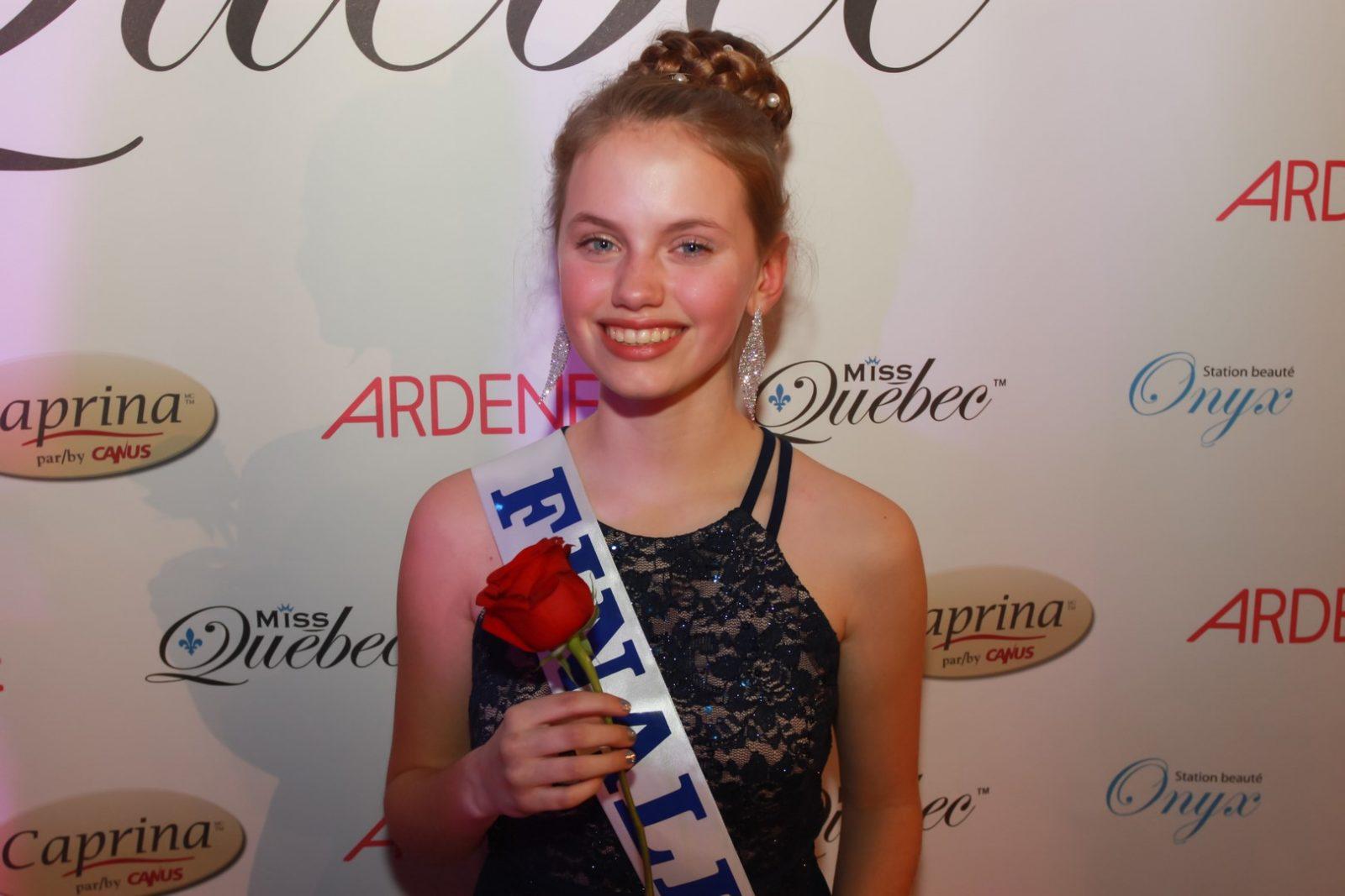 Mégane Girard accède à la finale de Miss Québec
