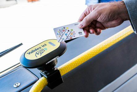 Transport en commun: 8000 citoyens optent pour une carte à puce personnalisée