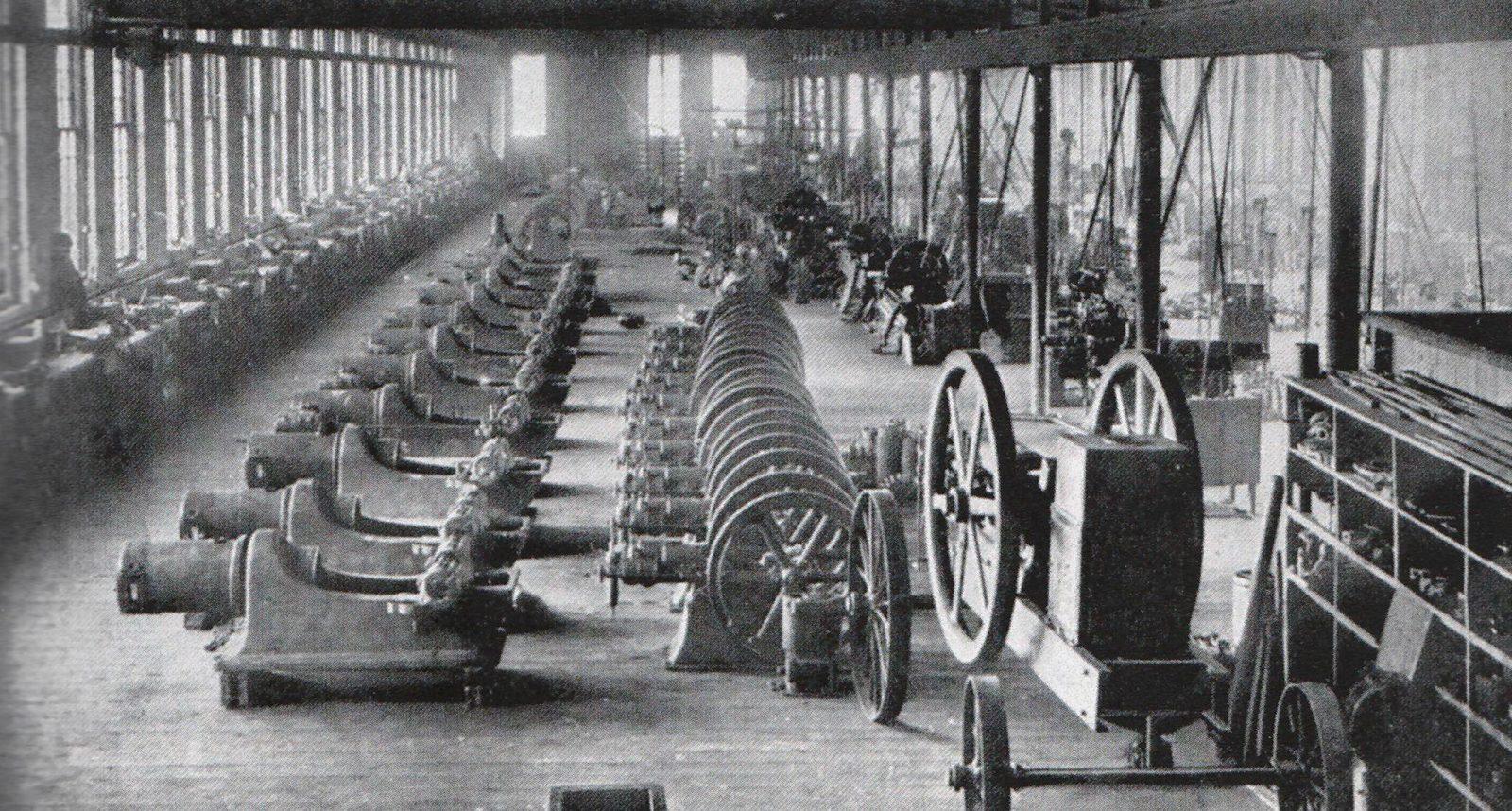 9 mars 1901- Un feu détruit l'usine Oldsmobile