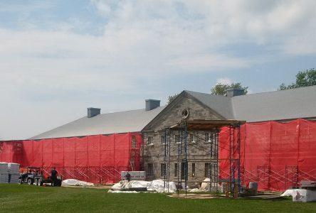 Un chantier d'envergure au Fort Lennox