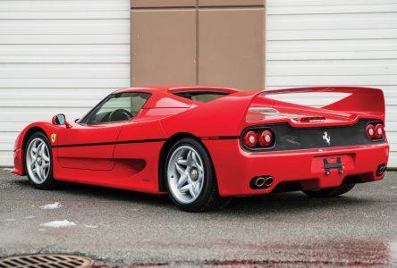 6 mars 1995 – Ferrari présente la F50