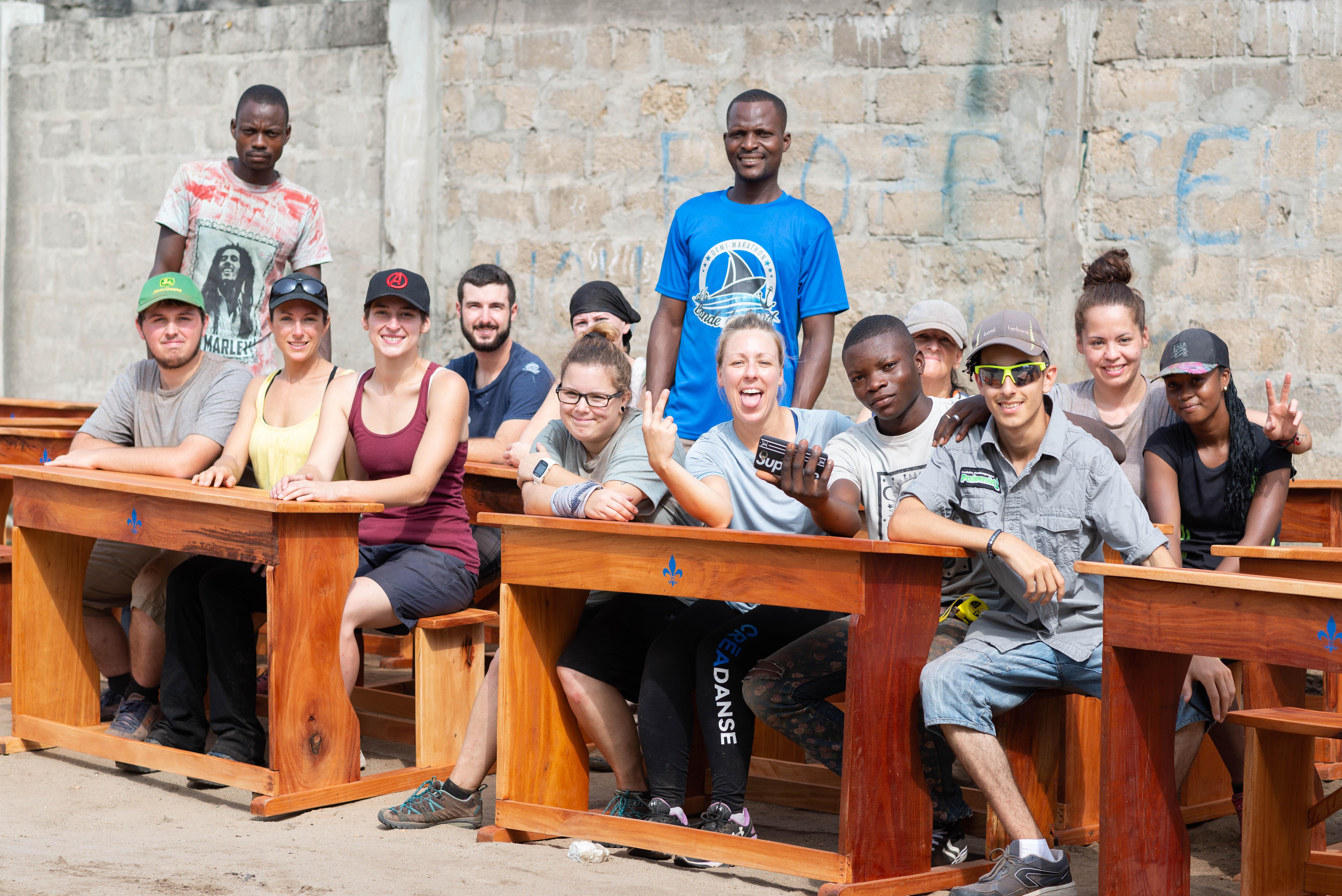 Un séjour de dur labeur et de découvertes au Bénin