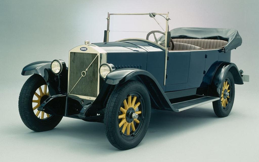 14 avril 1927 – La première Volvo quitte la chaîne de montage