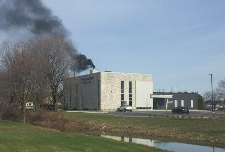 Début d'incendie au Complexe funéraire Haut-Richelieu