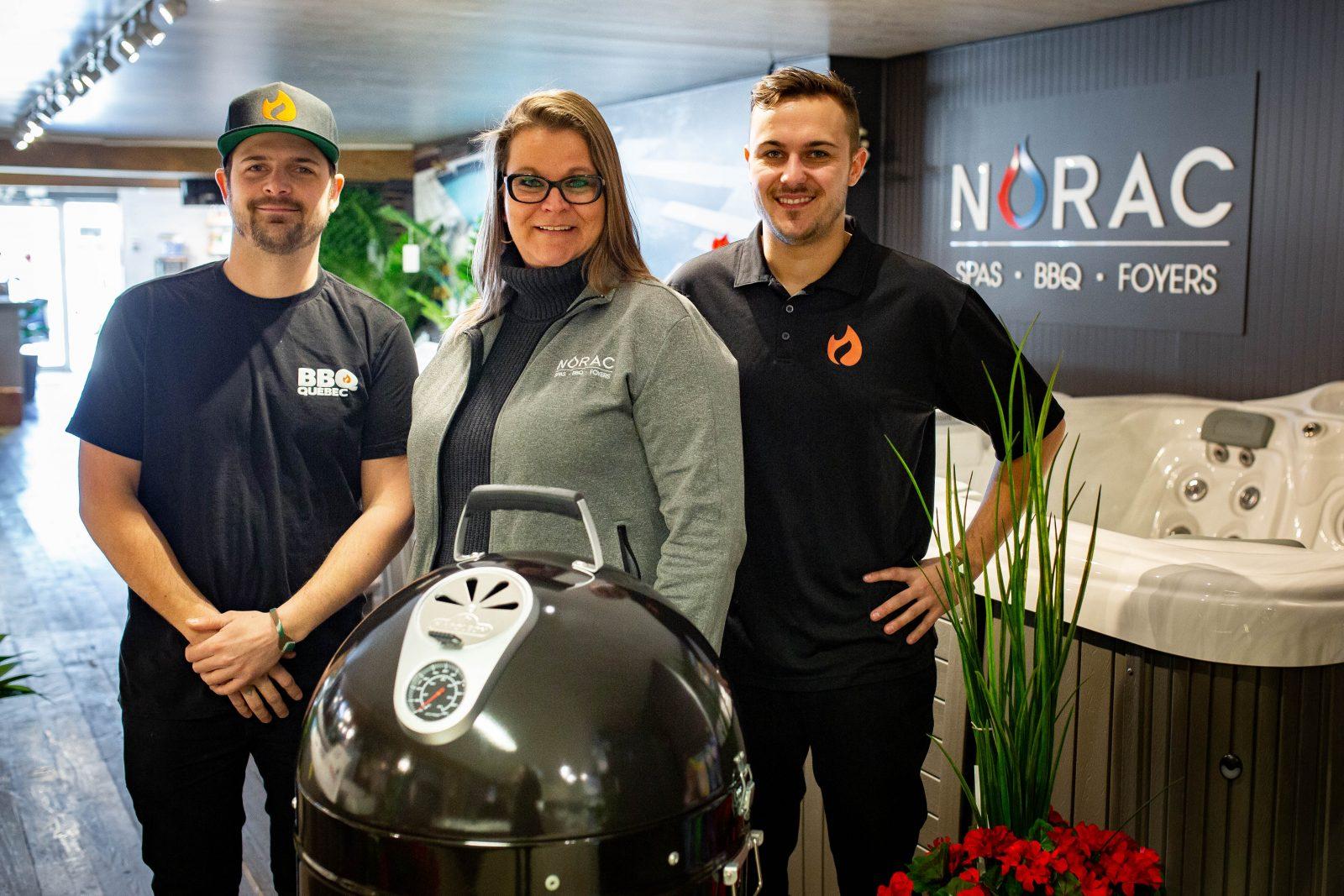 BBQ Québec s'installe chez Norac Spas à Saint-Luc